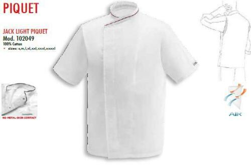 Respirant ジャケッ Chef Egochef Kochjacke Куртка Cuisinier De Piquet Neuf Veste qnw1fBtSq