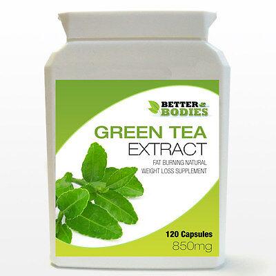 Forte Estratto Di Tè Verde 850mg Perdita Di Peso Dieta 120 - 180 Capsule Bottiglia Pillole- Materiali Accuratamente Selezionati