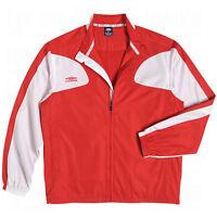 Umbro Hc Water Resistant Warm Up Full Zip Training Top / Jacket Brand