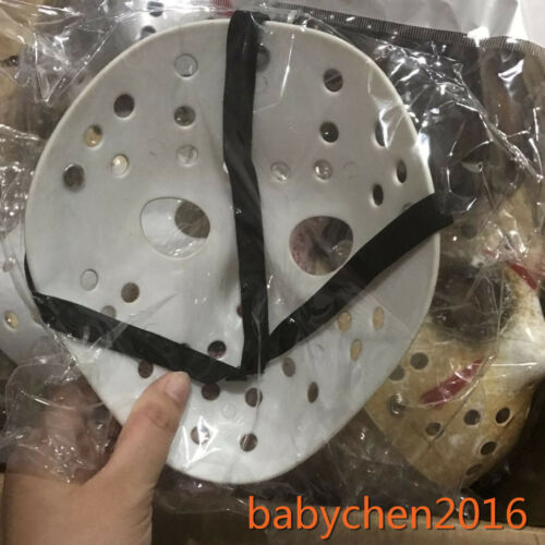 Small Kids Old Jason Halloween Mask Voorhees Friday The 13th Hockey Scary Mask