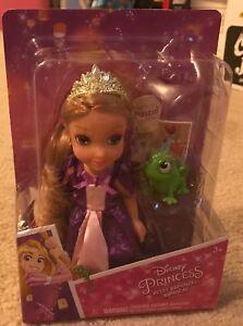 Disney Petite Princess Rapunzel Princess Rapunzel and Pascal NEW, ASAP Shipping