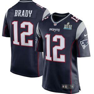 Tom Brady New England Patriots Nike Youth Super Bowl LII Bound ...