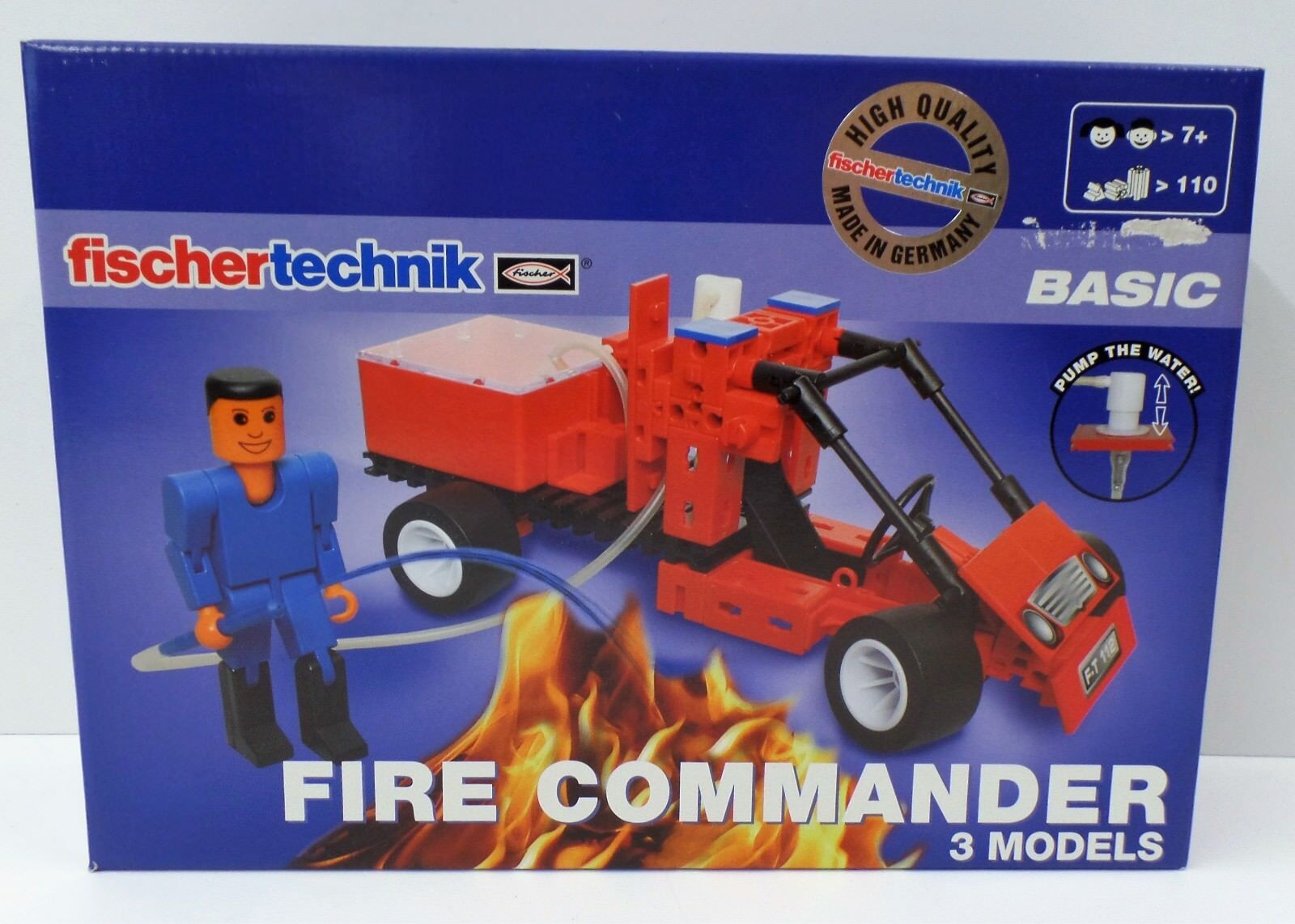 Fischertechnik Basic-Fire Commander 500877-nuevo New