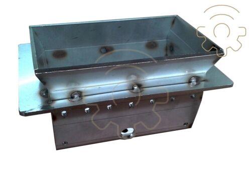 Braciere in acciaio di ricambio per stufa a pellet King Idro 15 misure 11,2x14,2