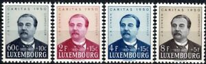 Lussemburgo LUXEMBOURG 1950 Caritas J.A. ammassato frase posta FRESCHI MNH ** kw:40 €