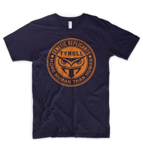 Blade Runner T Shirt 2049 Tyrell Genetic Replicants Logo Android Cyborg Unicorn