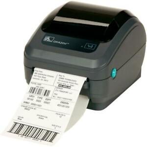 Zebra GK420d 6 x 4 Label Thermal Printer Barcode Desktop USB & Ethernet