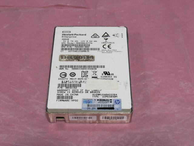 HP Enterprise HUSMM1640ASS204 400GB SFF 2.5