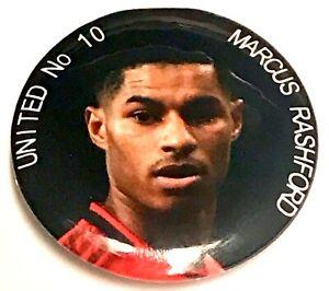 Marcus Rashford United Nein 10 Player Hero von Dem Menschen Abzeichen