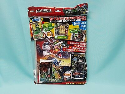 LEGO ® Star Wars ™ série 1 trading card game Conditionnement Classeur Starter Set