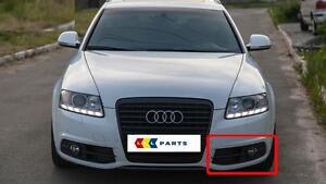 Audi-A6-C6-08-12-Neuf-D-039-origine-S-LINE-Pare-chocs-N-S-Gauche-Brouillard-Grill-Surround-Trim
