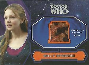 Topps-Doctor-Who-2015-034-Sally-Sparrow-039-s-Coat-034-Costume-Relic-Card