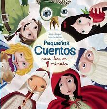 PEQUEÑOS CUENTOS PARA LEER EN 1 MINUTO by Monica Sempere Creus (2015, Hardcover)