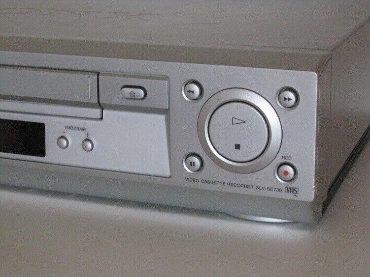 VHS videomaskine, Sony, SLV-SE730