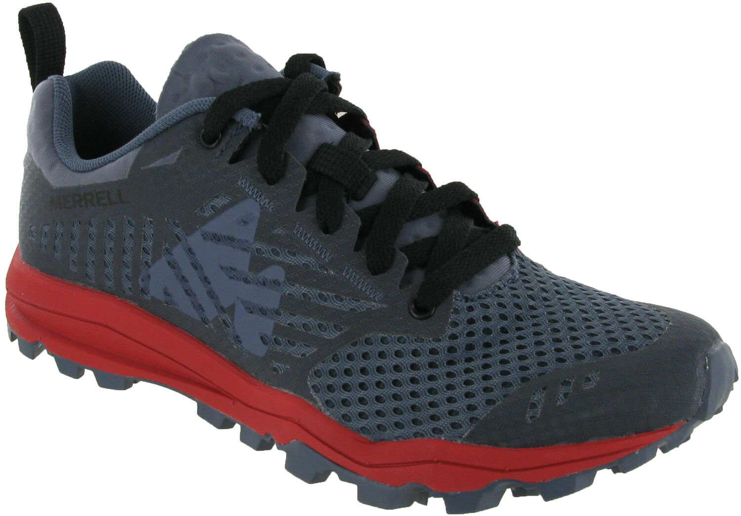 Merrell Dexterity Folkstone Womens Hiking Walking Lace Up Mesh Trainers shoes