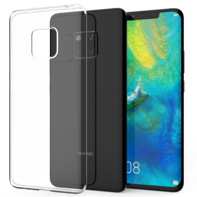 watch 0ddd5 75327 Huawei Mate 20 Pro Case Crystal Clear Transparent Best Silicone GEL Phone  Cover