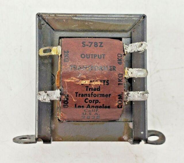 Basler Tube Amp Output Transformer 1500 Ohms Ct