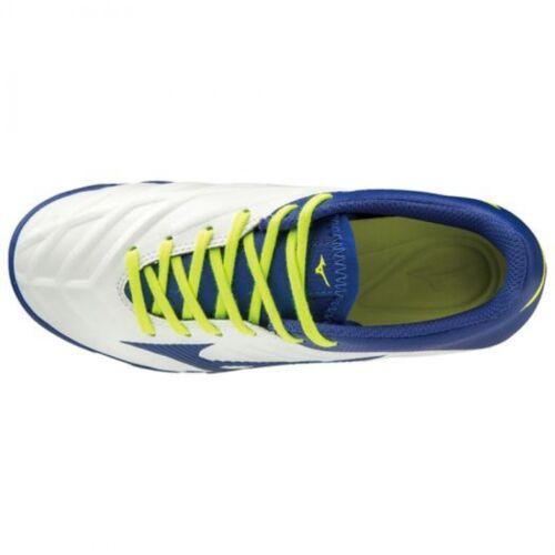 Mizuno Soccer Shoes Spike REBULA 2 V3 Junior AS P1GE1975 White × Blue × Yellow
