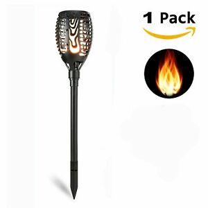 1-4-Pack-96-LED-Waterproof-Solar-Tiki-Torch-Light-Dancing-Flickering-Flame-Lamp