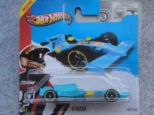 Hot-Wheels-2013-129-250-F1-Racer-Blu-Hw-Racing-Pista-Stelle