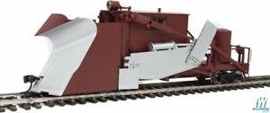 Walthers-Proto-920-110114-HO-scale-Jordan-Spreader-MOW-brown