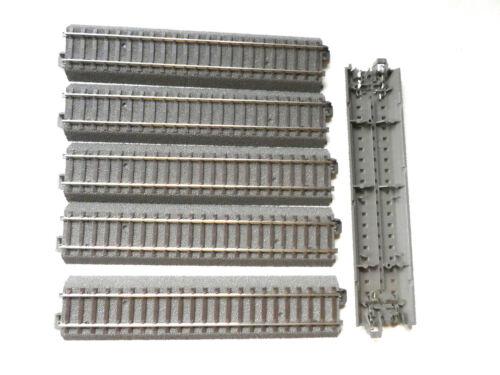 6 Stück mit TRIX 62172 Gerades Gleis 171,7 mm 1:87 H0 NEU