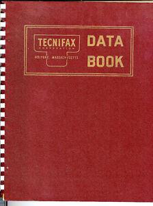 Technifax data book 1950s catalog blueprint color film cloth image is loading technifax data book 1950 039 s catalog blueprint malvernweather Gallery
