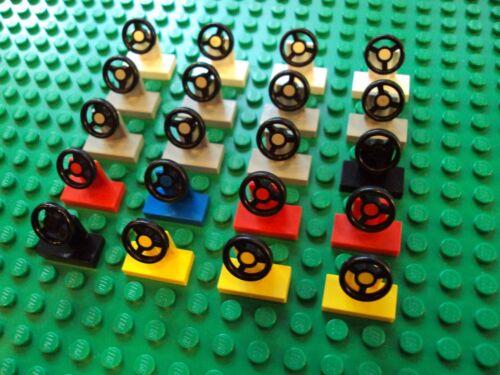 Lego Minifig ~ Mixed Lot Of Steering Wheels Train Car Truck  #cvb6wt