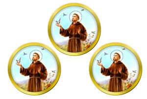 Francis-de-Assisi-Marqueurs-de-Balles-de-Golf