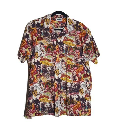 Roy Rogers Trigger Arizona Kid Button Short Sleeve