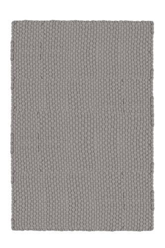 Teppich Hochflorteppich 100 /% Baumwolle Handgefertigte Qualität Grau 120x180cm