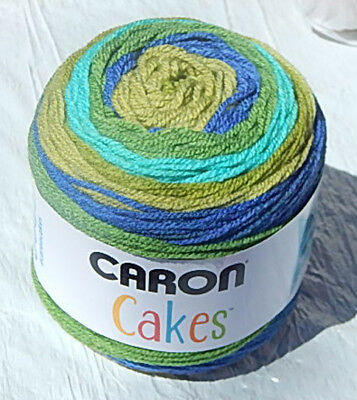"Caron Cakes in /""FUNFETTI/"" Smoke Free Home Colorful Worsted Wt Yarn New"