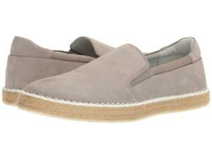Calvin-Klein-Men-039-s-Piper-US-12-M-Toffee-Oily-Suede-Loafers-Slip-On-Shoes-120-00