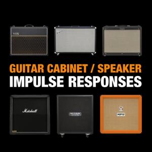 16 GB Guitar Amp Cabinet Speaker Impulse Responses WAV Kemper Axe FX Helix