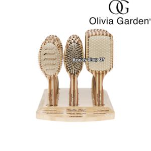 Bamboo brush Olivia Garden HEALTHY HAIR Professional paddle