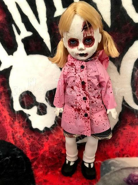 Living Dead Dolls Ava Series 22 Zombies Raincoat LDD Open As Is sullenToys