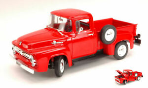 Ford F 100 Pick Up 1956 Red 1:18 Model 9831 WELLY