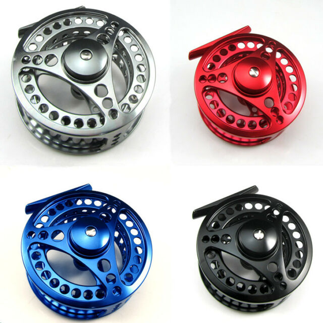 CNC MACHINED ALUMINUM FLY FISHING REEL LEFT OR RIGHT HAND RETREIVE 5/6 7/8 9/10