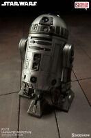 R2-d2 Unpainted Prototype Hot Toys / Sideshow 1/6 Figure (star Wars) Mega Sale