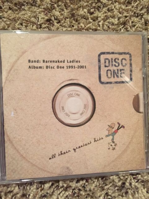 Barenaked Ladies Disc One 1991 2001 All Their Greatest Hits Ebay