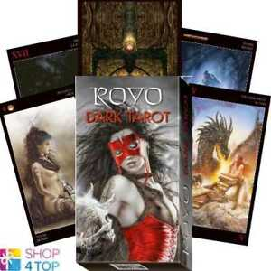 Details about ROYO DARK TAROT DECK CARDS ESOTERIC FORTUNE TELLING LO  SCARABEO NEW