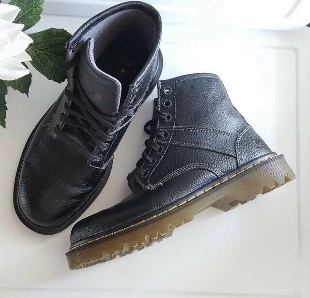 lontano piangere assorbimento  Dr. Martens Mens 1460 Ajax Combat Boot Black 7 Uk/8 M US for sale online |  eBay