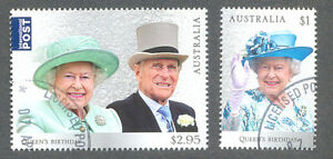 Australia-Queens Birthday 2017-Royalty min sheet fine used/cto