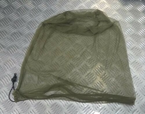 Genuine British Army OD Headnet Insect Protective Cadets Sniper SAS Para NEW