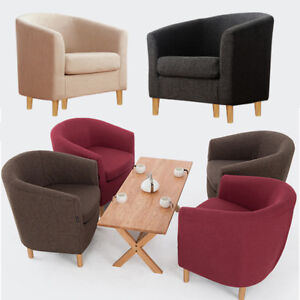 Image Is Loading 1 Seater Single Sofa Curved Back Arm Chair