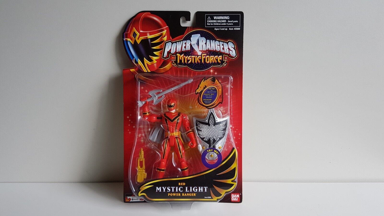 Power Rangers Mystic Force - ROT MYSTIC LIGHT POWER RANGER Action Figure NEW MOC