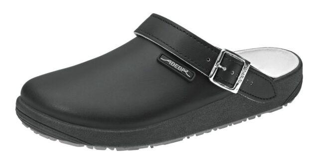 ABEBA Berufsschuhe rubber Clog schwarz 9252 Arbeitsschuhe Schuhe 36-47