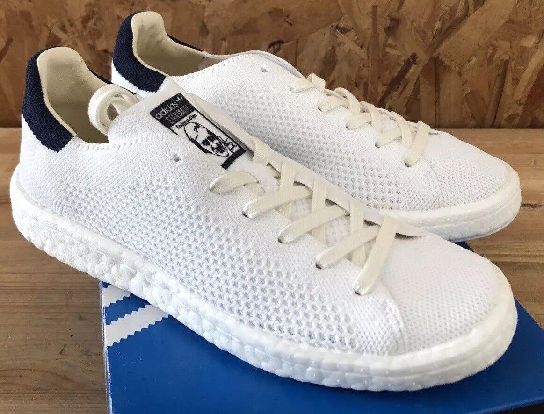 Adidas Stan PK Azul Marino blancoo Smith Nuevo en Caja BB0012 Primeknit