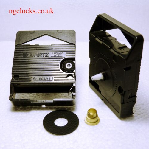 Hr 5mm// Min 3.5mm Junghans W737 quartz clock movement short 11mm shaft