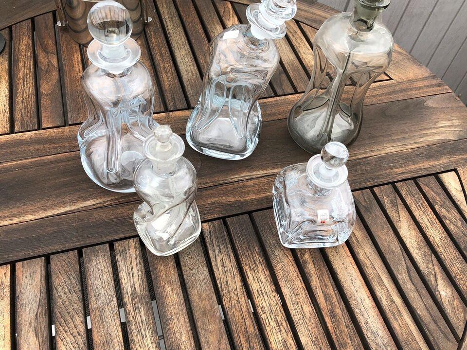 Glas, Klukflasker , Holmegård